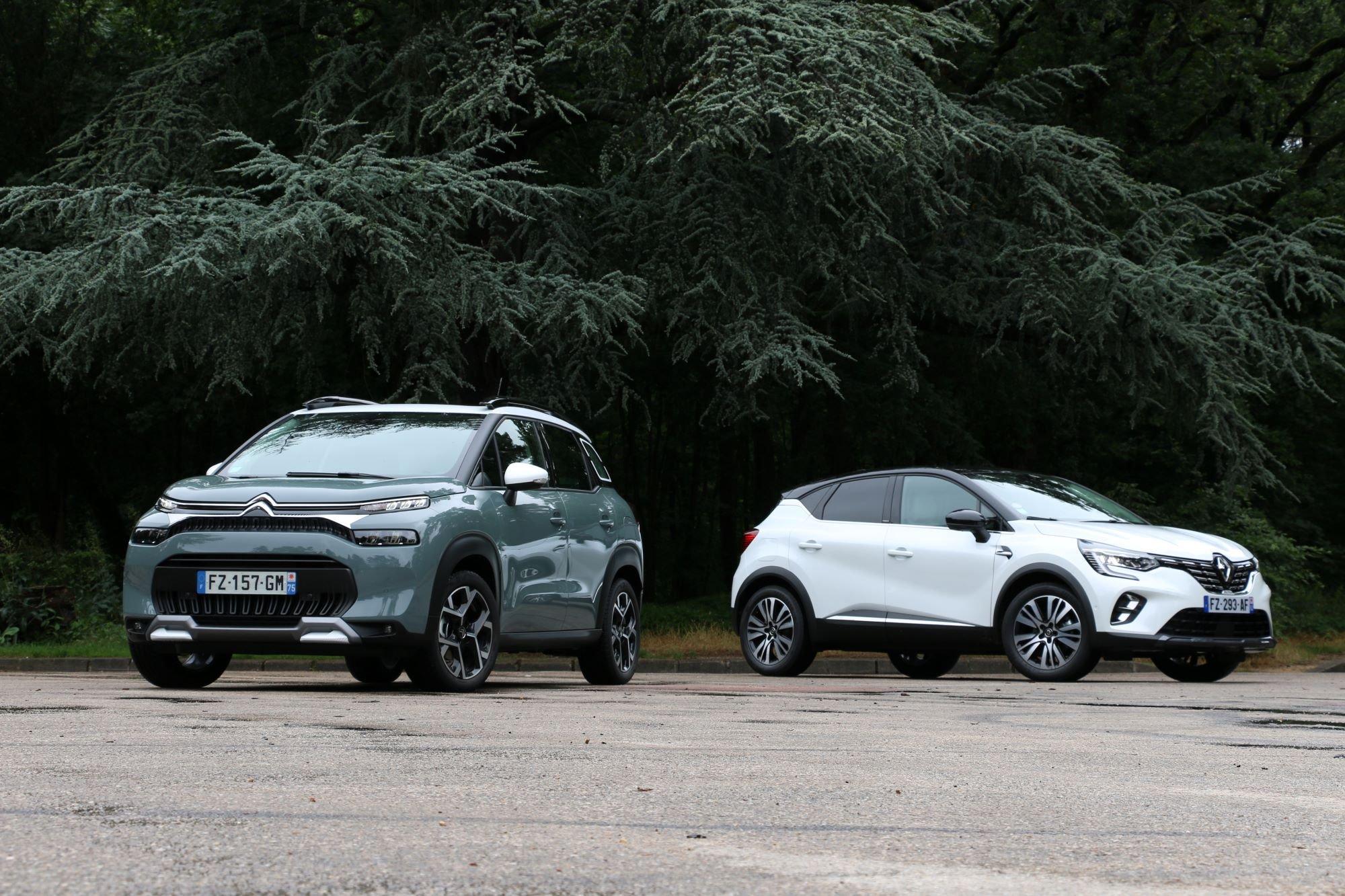 le Citroën C3 Aircross restylé peut-il tenir face au Renault Captur ?