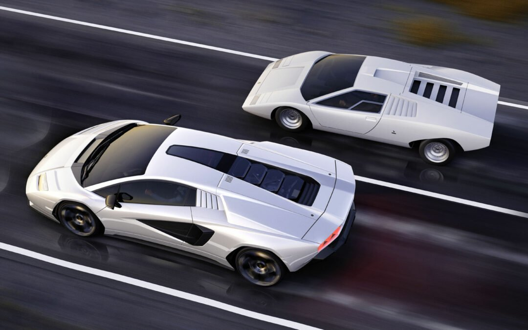 50 ans de la Countach : Lamborghini dévoile la Countach LPI 800-4