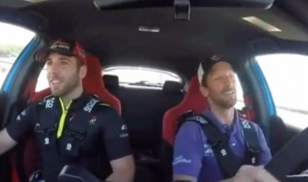 L'accident de Romain Grosjean avec la voiture médicale de l'IndyCar vu de l'intérieur