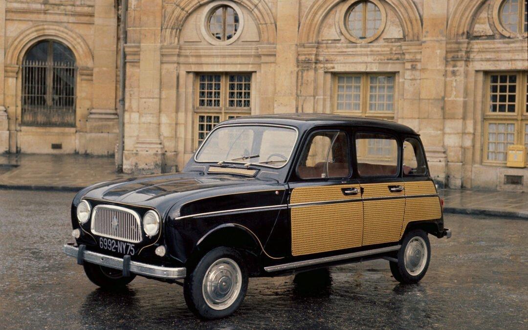 La Renault 4 fête ses 60 ans !